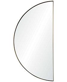 Halfmoon Medium Semicircle Mirror, Quick Ship