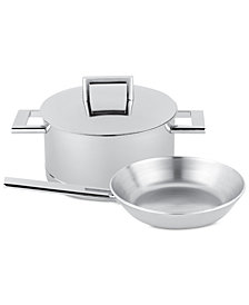 Demeyere John Pawson 3-Pc. Stainless Steel Cookware Set