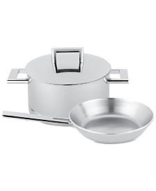 Demeyere John Pawson 3-Pc. Stainless Steel Cookware Set