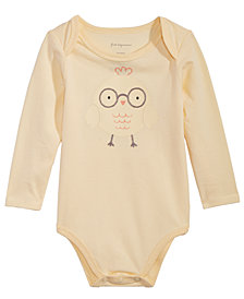 First Impressions Baby Boys or Girls Graphic-Print Bodysuit, Created for Macy's