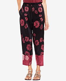 Vince Camuto Printed Colorblocked Pants