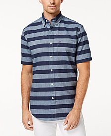 Tommy Hilfiger Men's Nite Stripe Shirt, Created for Macy's
