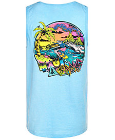 Maui and Son's Men's Sharkman Surf Tank Top