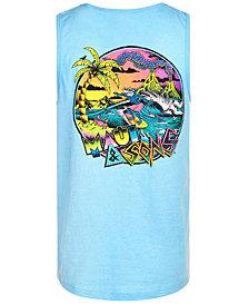 Maui and Son's Men's Sharkman Surf Tank Top