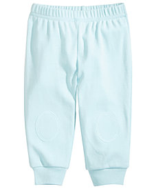 First Impressions Baby Boys Knee-Patch Cotton Jogger Pants, Created for Macy's