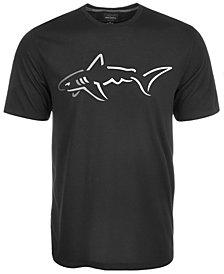 Greg Norman for Tasso Elba Men's Shark Logo T-Shirt, Created for Macy's