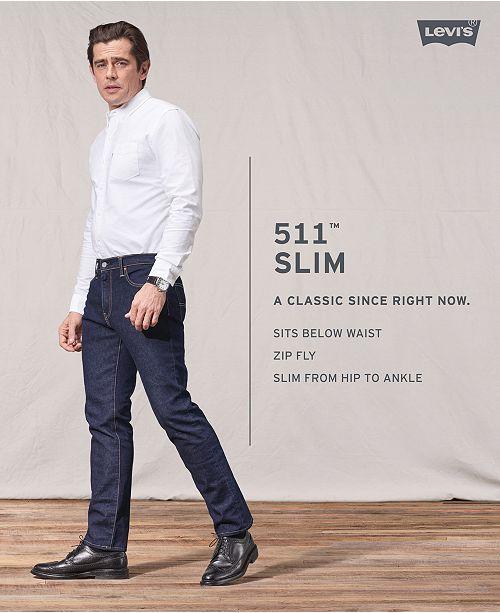 874ad771518 Levi's 511™ Slim Fit Hybrid Trousers & Reviews - Jeans - Men - Macy's
