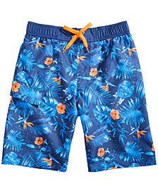 Hawke & Co. Outfitter Big Boys Printed Swim Trunks