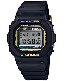 G-Shock Men's Analog-Digital 35th Anniversary Edition Black Resin Strap Watch 42.8mm