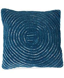 "Modern Geometric Circle 18"" Decorative Throw Pillow"