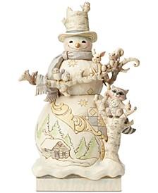 Jim Shore White Woodland Figurine