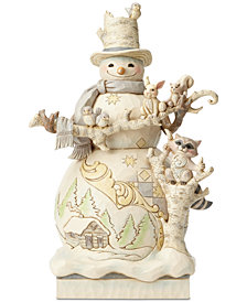 Jim Shore White Woodland Figurine