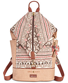 Sakroots City Canvas Backpack