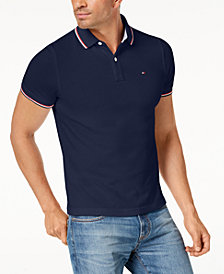Tommy Hilfiger Men's Burns Slim Fit Polo, Created for Macy's