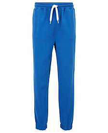 BOSS Men's Regular/Classic-Fit French-Terry Cotton Trousers