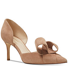 Nine West Mcfally d'Orsay Bow Pumps