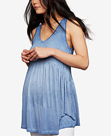A Pea In The Pod Maternity Scoop Neck Tank Top
