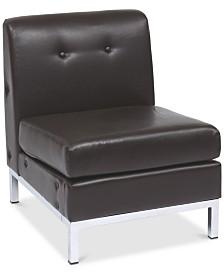 Rayda Armless Chair, Quick Ship
