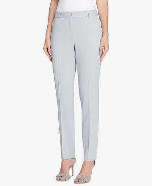 PETITE EXTENDED-TAB TROUSERS