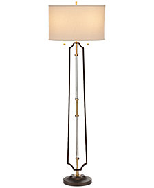 CLOSEOUT! Pacific Coast Hamilton 2-Light Floor Lamp