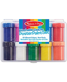 Kids Toy, Deluxe 10-Color Poster Paint Set