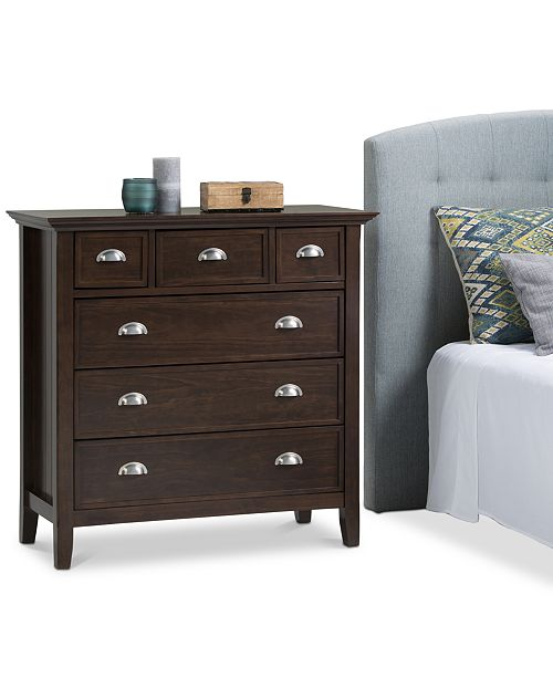 CLOSEOUT! Avery Bedroom Chest of Drawers, Quick Ship