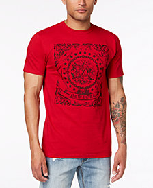 I.N.C. Men's Bandana Graphic T-Shirt, Created for Macy's