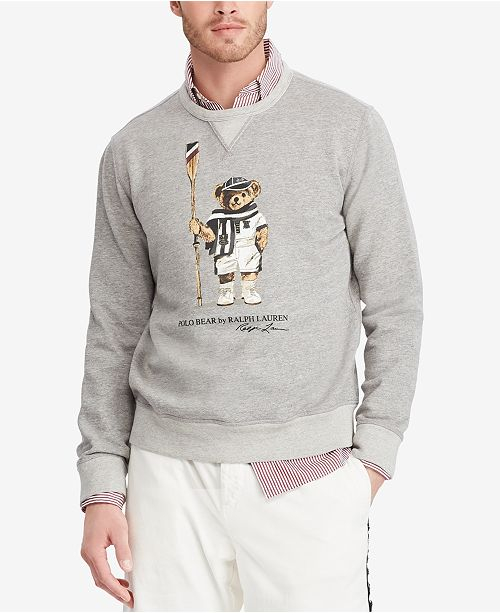25d28239 Polo Ralph Lauren Men's Big & Tall Polo Bear Sweatshirt & Reviews ...