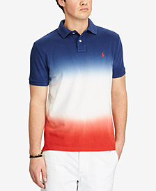 Polo Ralph Lauren Men's Big & Tall Ombre Classic Fit Mesh Polo