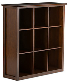Bellevue 9 Cube Storage Bookcase, Quick Ship