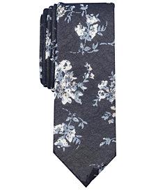 Penguin Men's Milos Floral Skinny Tie