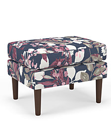 Martha Stewart Collection™ Bedford Collection Delany Ottoman, Quick Ship, Created For Macy's