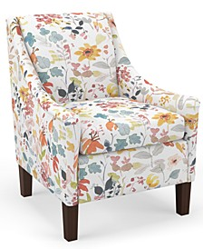 Bedford Collection Campbell Accent Chair, Quick Ship, Created For Macy's
