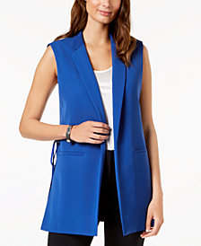 Nine West Open-Front Vest