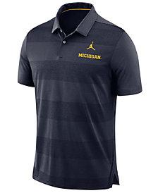 Nike Men's Michigan Wolverines Early Season Coaches Polo