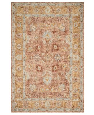 "Julian JI-04 Terracotta 9' 3"" x 13' Area Rug"