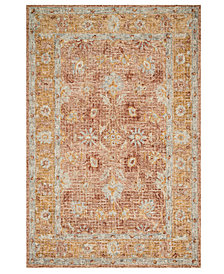 Loloi Julian JI-04 Terracotta Area Rug Collection