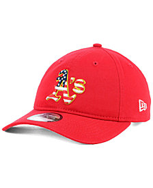 New Era Oakland Athletics Stars and Stripes 9TWENTY Strapback Cap
