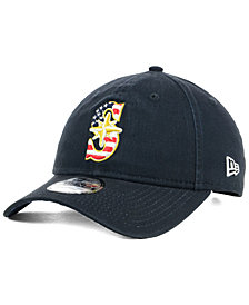 New Era Seattle Mariners Stars and Stripes 9TWENTY Strapback Cap