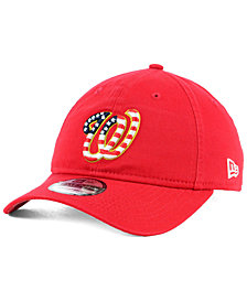 New Era Washington Nationals Stars and Stripes 9TWENTY Strapback Cap