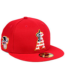 New Era Los Angeles Angels Stars and Stripes 59FIFTY Fitted Cap