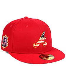 New Era Atlanta Braves Stars and Stripes 59FIFTY Fitted Cap