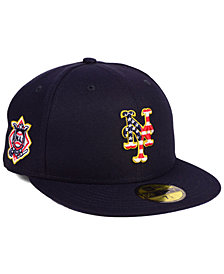 New Era New York Mets Stars and Stripes 59FIFTY Fitted Cap