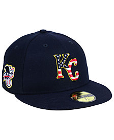 New Era Boys' Kansas City Royals Stars and Stripes 59FIFTY Fitted Cap