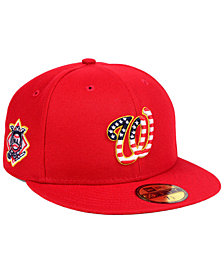 New Era Boys' Washington Nationals Stars and Stripes 59FIFTY Fitted Cap