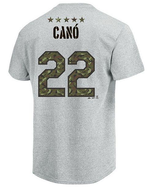 c5fdbaa67 ... Majestic Men s Robinson Can oacute  Seattle Mariners Camo Player T-Shirt  ...