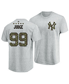 Majestic Men's Aaron Judge New York Yankees Camo Player T-Shirt