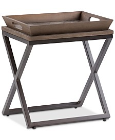 Alee Narrow Side Table, Quick Ship