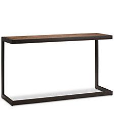 Cajon Console Sofa Table, Quick Ship
