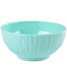 "CLOSEOUT! Laurie Gates Aqua Figural 6"" Bowl, First at Macy's"